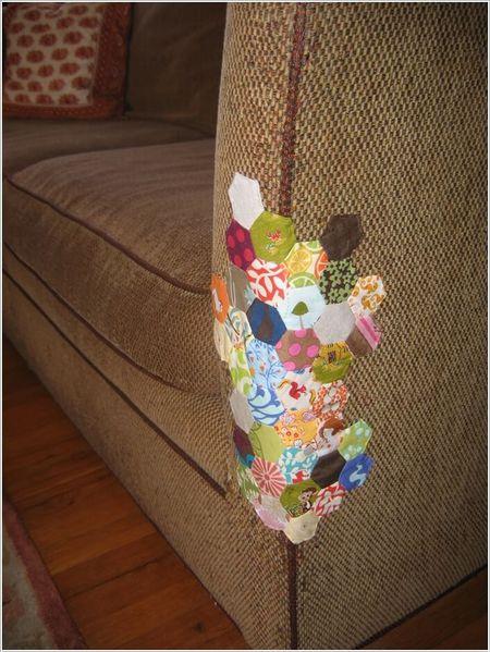 bekas cakaran7 - Kreatif ! Selamatkan Bekas cakaran Di Sofa Anda dengan Cara Berikut