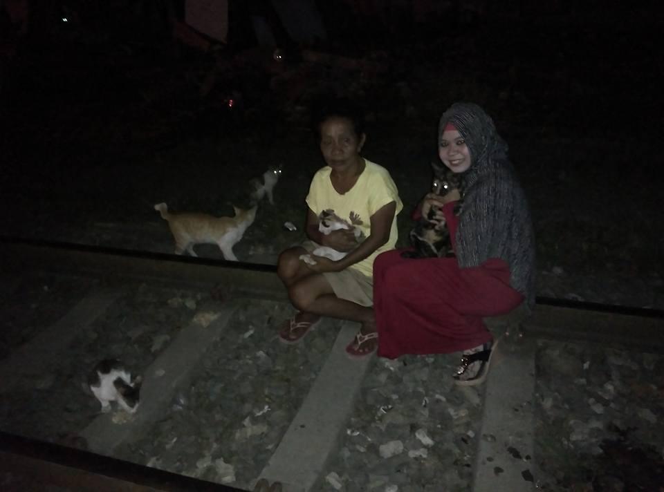 mariana3 - Mariana, Robohnya Rumah dan 16 Ekor Kucing.